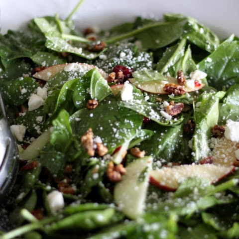 Harvest Apple Spinach Salad