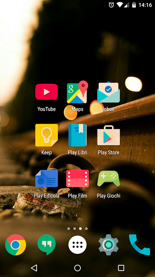 Iride UI is Hipster Icon Pack Screenshot 4
