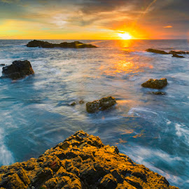 Menganti Beach by Mac Evanz - Landscapes Sunsets & Sunrises