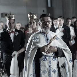 church by Jovan Barajevac - Wedding Ceremony ( srbija, novi sad, church, crkva, wedding, serbian, magic moments, ceremony )