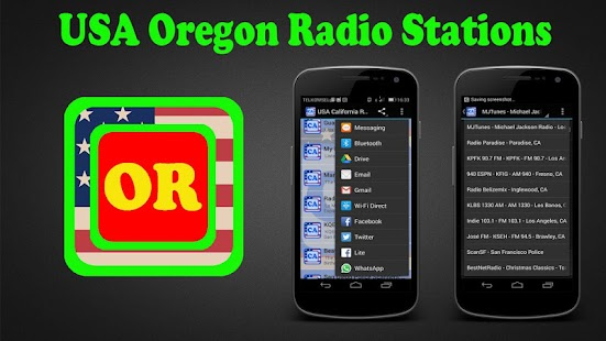 USA Oregon Radio Stations - screenshot