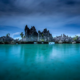 Namlol Island by Zaudin Daud - Landscapes Travel
