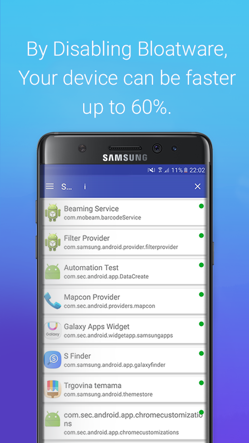 S Package Disabler for Samsung Screenshot 4