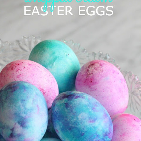 How to Dye Easter Eggs with Cool Whip!