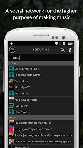 Songtree - Sing, Jam & Record Screenshot
