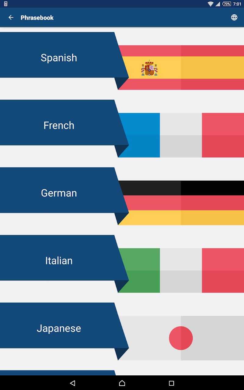 Travel Phrasebook | Foreign Language Translator Screenshot 9