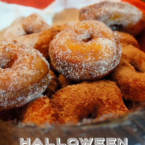 Halloween Doughnuts adapted from King Arthur Flour