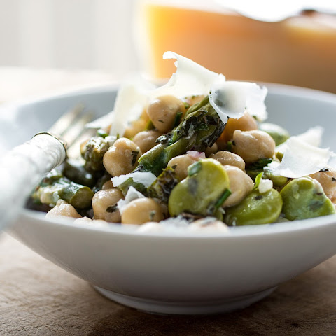 Fava Bean and Asparagus Salad