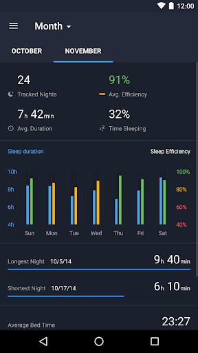 Runtastic Sleep Better: Sleep Cycle & Smart Alarm screenshot 4