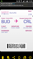 Screenshot of Wizz Air