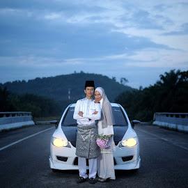 my car by Fadhli Ghazali - Wedding Bride