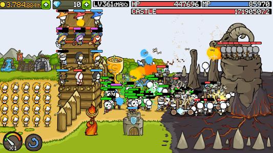 Grow Castle 1.20.14 (Mod Gold/Crystals/SP/Level)