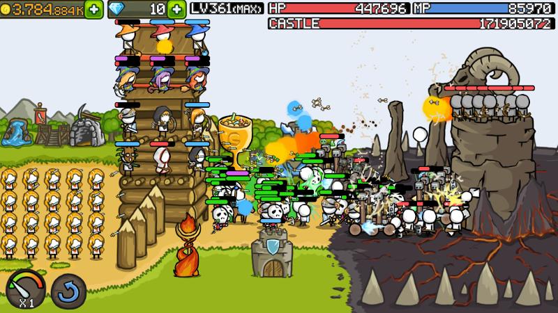 Grow Castle Screenshot 0