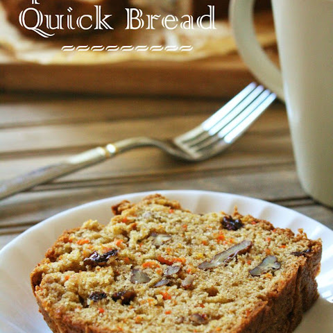 Spiced Carrot Quick Bread