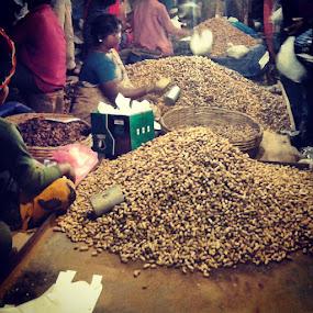 Kadlekai Parishe!!!!!! ;) by Swati Nairi - City,  Street & Park  Markets & Shops (  )
