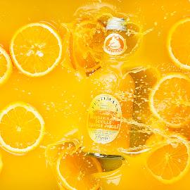 Fentimans Orange by Darryll Jones - Food & Drink Alcohol & Drinks ( orange, splash, drink, mandarin, fentimans )