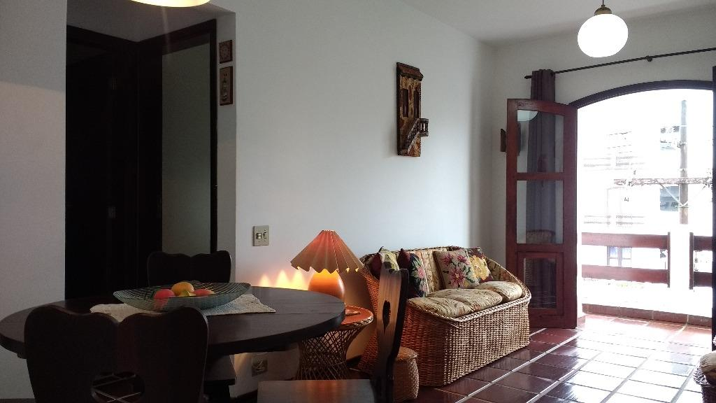 Apartamento residencial à venda, Praia de Itaguá, Ubatuba.