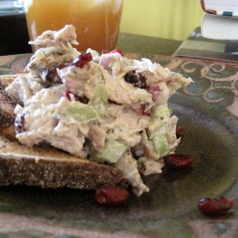 Turkey Salad With Cranberries and Dill