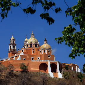 Cholula by Cristobal Garciaferro Rubio - Buildings & Architecture Public & Historical ( cholula, mexico, puebla )