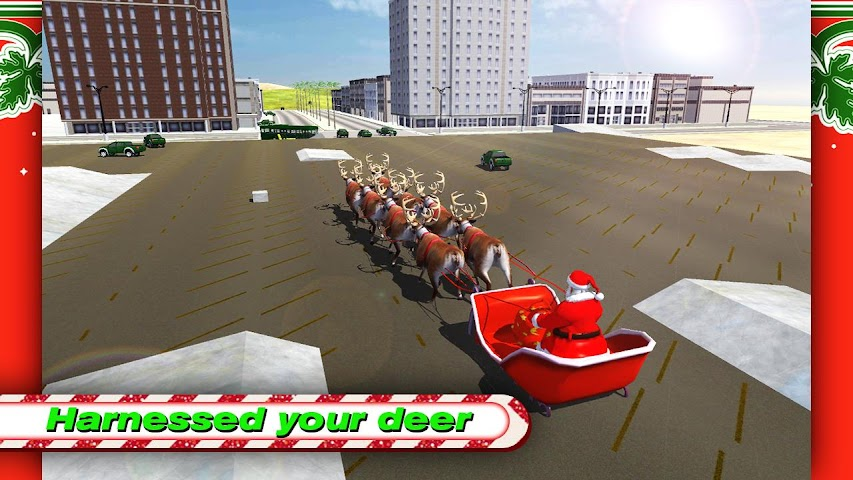 android Santa Rally Drift LOKO HD Screenshot 0