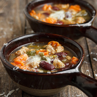 Tuscan Kale, Bean and Sausage Soup