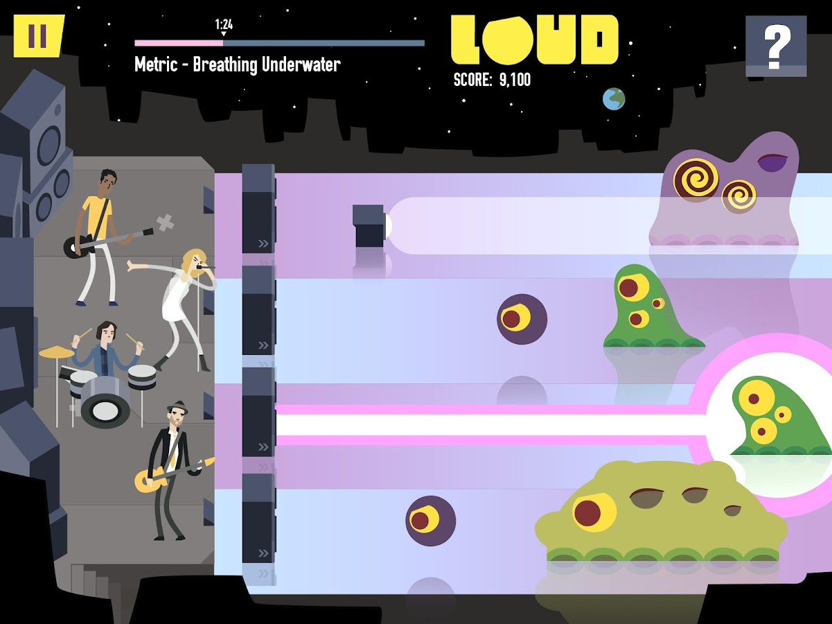 LOUD on Planet X Screenshot 7