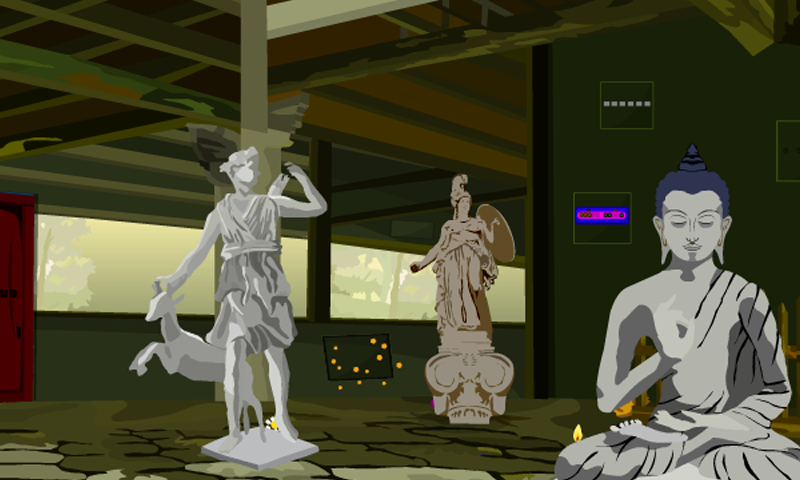 android Escape From Statue Palace Screenshot 2