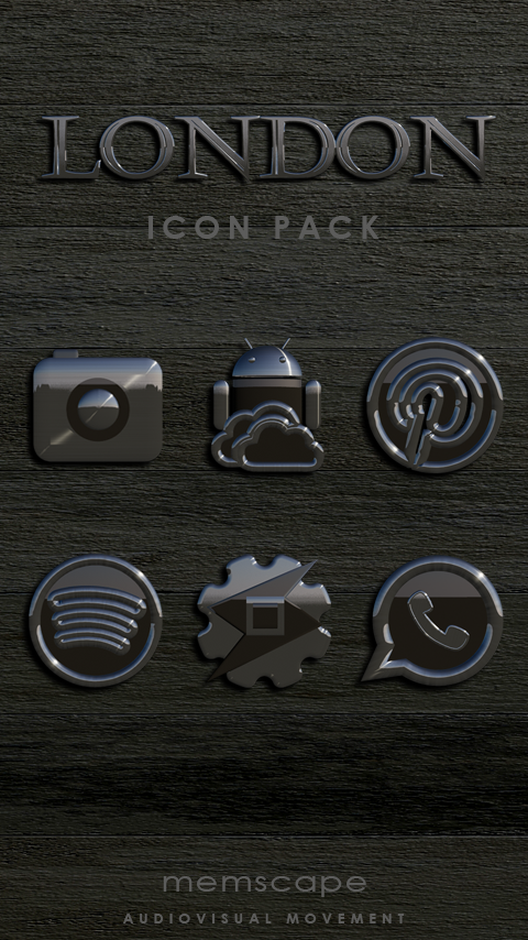 LONDON Icon Pack Screenshot
