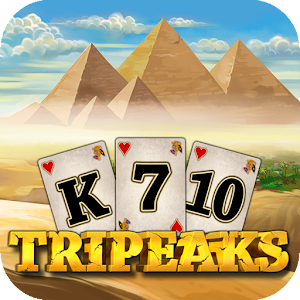 3 Pyramid Tripeaks Solitaire - Ancient Egypt Game