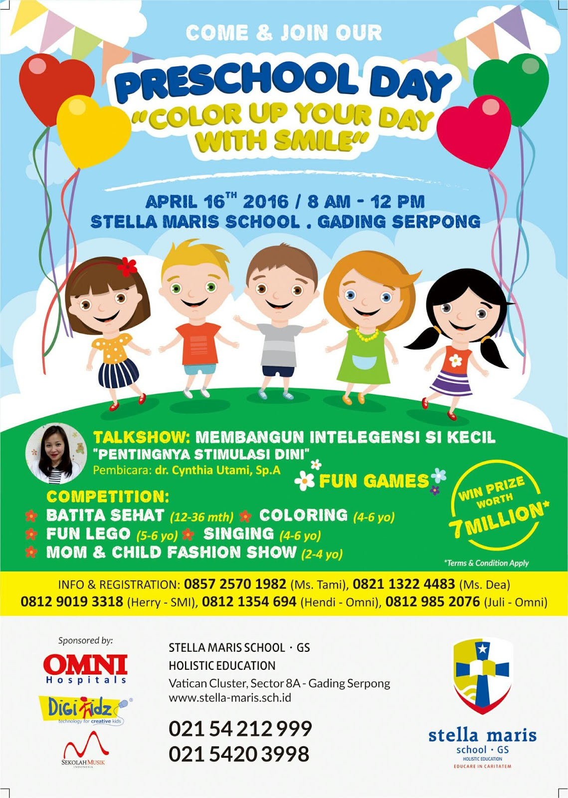 Preschool Day Stella Maris Gading Serpong