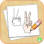 How To Draw Hands Step By Step APK icon