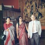 with Manorama and Chandana Paris, 1990.jpg