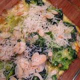 Zapiekanka ze szpinakiem i brokułami