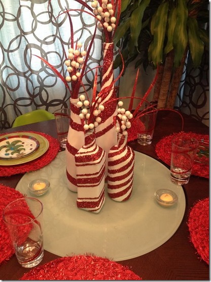decorar botellas navidad todonavidad info (4)