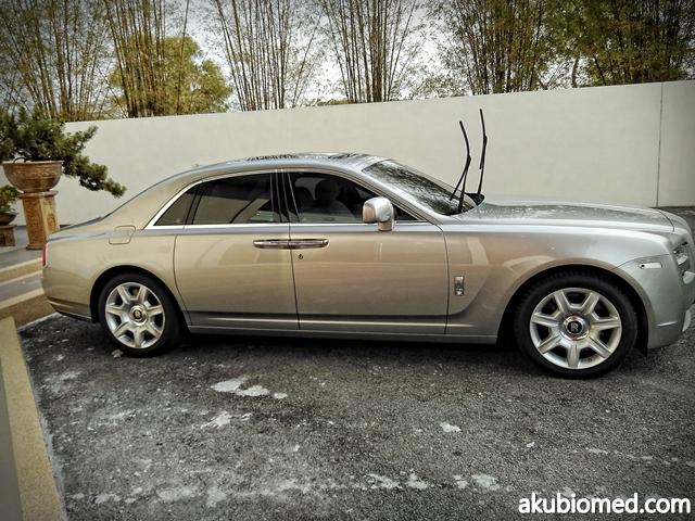 kereta mewah Roll Royce