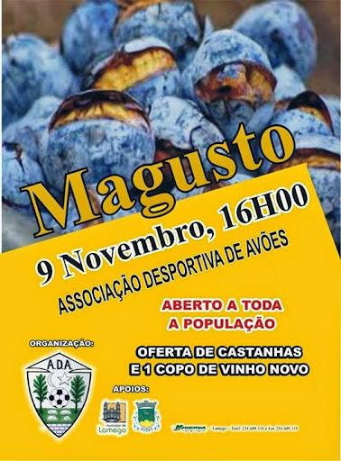 Magusto - Associação Desportiva de Avões - 9 de Novembro de 2014