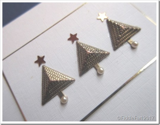 Pyramid Christmas Tree Card. a