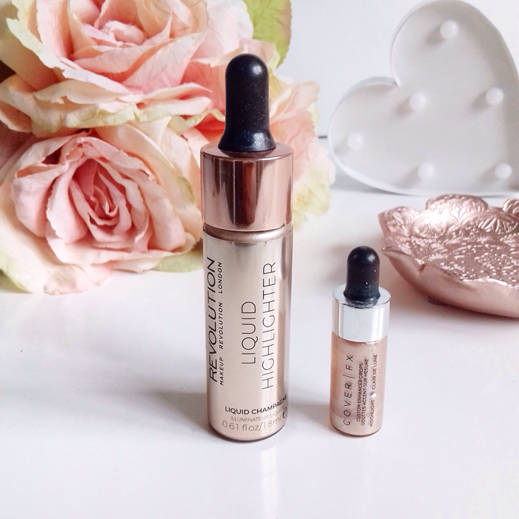 Makeup Revolution Liquid Highlighter Champagne