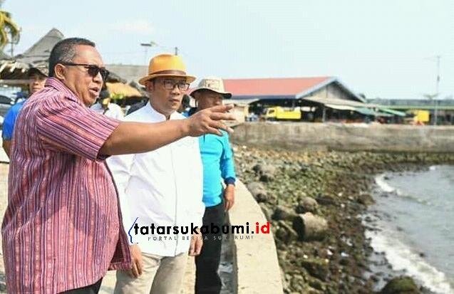 Ridwan Kamil Minta Kawasan Dermaga Gado Bangkong Palabuhanratu Jadi Kawasan Wisata