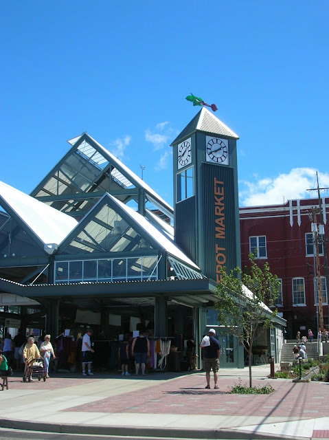 The Depot Market Square was completed and opened in 2006.Credit: Caroline Kinsman