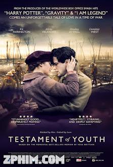 Khát Vọng Tuổi Trẻ - Testament of Youth (2014) Poster