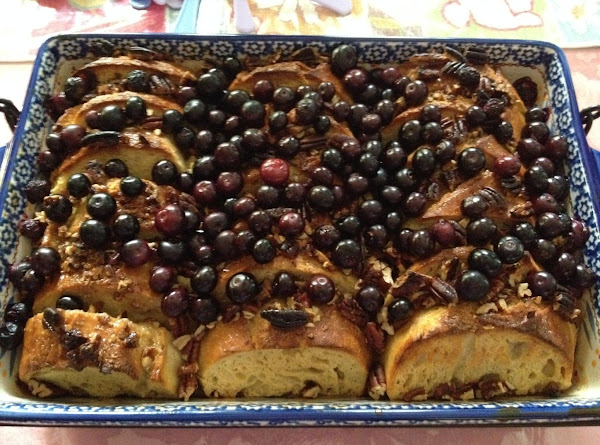 Blueberry Baked French Toast Recipe