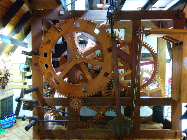 Gear Mechanism of a Cuckoo Clock
