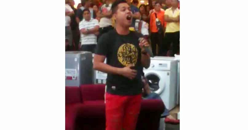 amiel mart orio singing the prayer watch and share