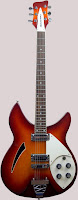 Anniversary Rickenbacker Hollow Body Guitar