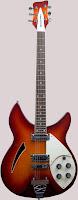 Anniversary Rickenbacker Hollow Body Guitar