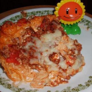 "Brenda""s Spaghetti Pie Version"