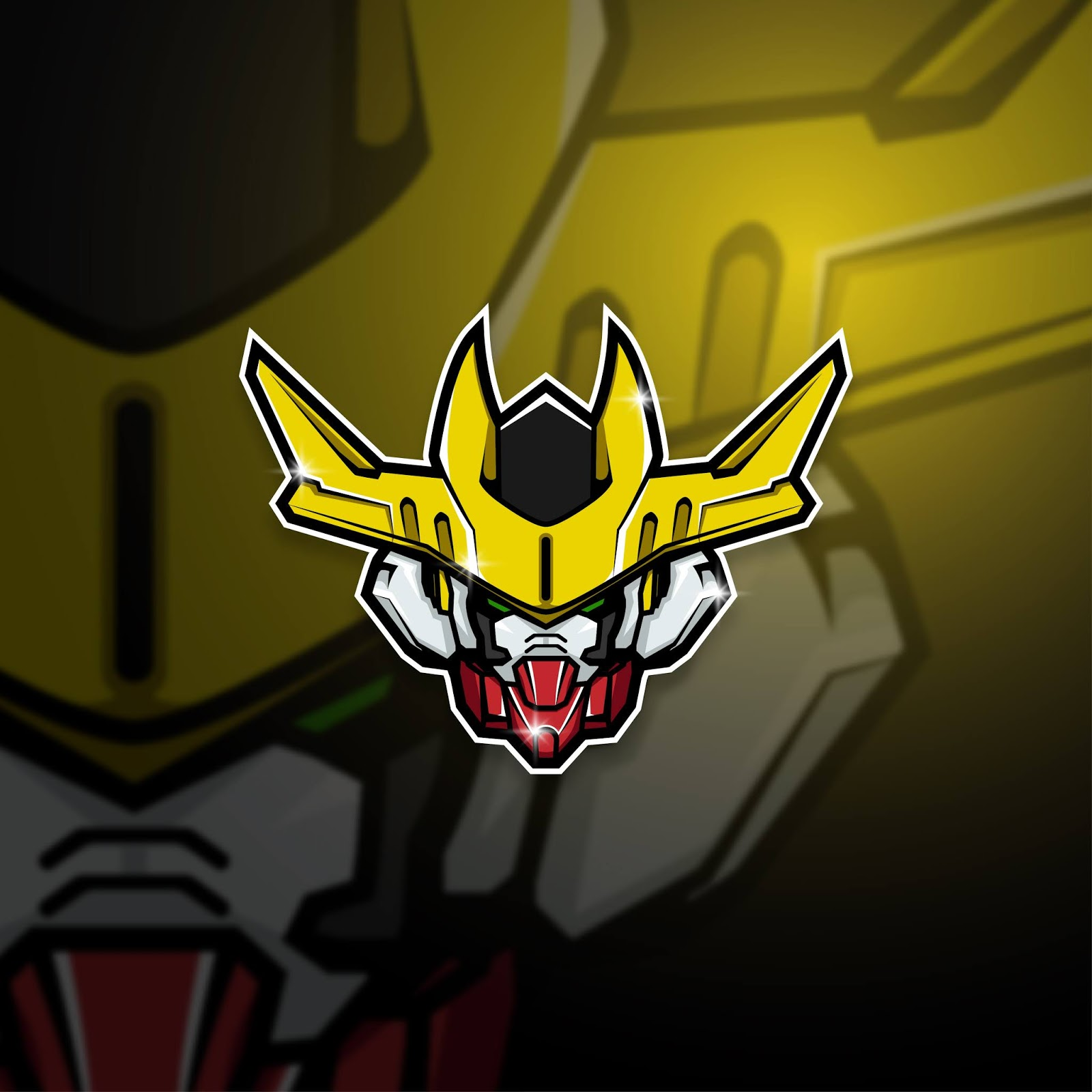Esports Mascot Logo Team Barbatos Squad Free Download Vector CDR, AI, EPS and PNG Formats