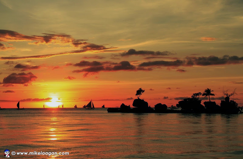 Sunset at Boracay