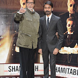 OIC - ENTSIMAGES.COM - Amitabh Bachchan and Dhanush at the Shamitabh Press Call St James London 27th January 2015 Photo Mobis Photos/OIC 0203 174 1069